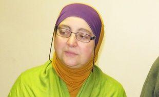 Samia Ben Achouba, secrétaire nationale de l'aumônerie musulmane des prisons.