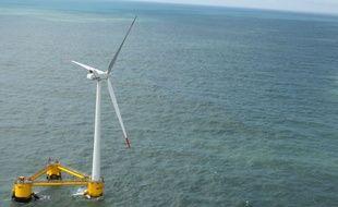 L'éolienne flottante d'EDPR,