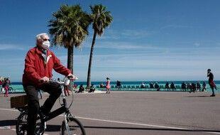 Un passant à Nice (image d'illustration).