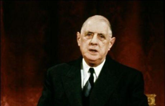 """3 juin 1967: Deux jours avant le début de la guerre des Six-Jours, le président français Charles de Gaulle décrète un embargo sur les armes, interrompant la coopération militaire très active avec Israël. En novembre, il déclare, provoquant la colère de l'Etat hébreu: """"Ce peuple d'élite, sûr de lui-même et dominateur""""."""