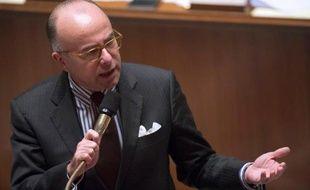 Le ministre du Budget Bernard Cazeneuve, à l'Assemblée nationale, le 9 octobre 2013.