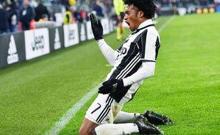 Juan Cuadrado a offert la victoire à la Juventus contre l'Inter Milan, le 5 février 2017.