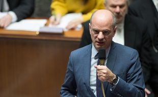 Jean-Michel Blanquer à l'Assemblée nationale le 14/02/19.