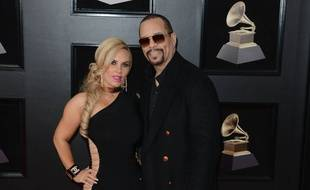 Le rappeur Ice-T et sa femme