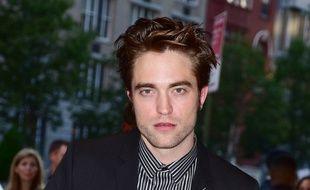 L'acteur Robert Pattinson à l'avant-première de Good Time à New York