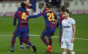Lionel Messi lors de Barça-Valence, le 19 décembre 2020.