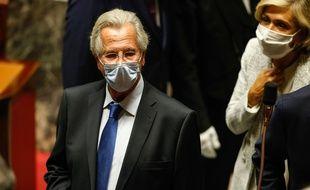Jean-Louis Debré, le 23 septembre dernier à l'Assemblée nationale