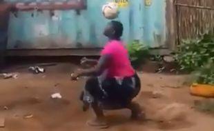 La jongleuse tanzanienne qui a impressionné Trump.