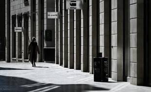 Une rue de Bordeaux, le 5 novembre 2020.