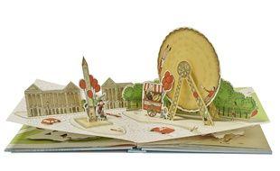 Le pop-up de la place de la Concorde, extrait du livre «Si Paris était un gâteau» (Marabout, 25,90 euros).