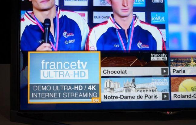 LG et France Télévisions proposeront dans quelques mois des contenus 4K gratuits en streaming sur les téléviseurs connectés.