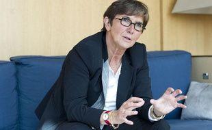 La ministre des sports, Valérie Fourneyron, le 15 mai 2013 au ministère des sports à Paris.