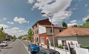 La rue des Platanes à Marquette-Lez-Lille.