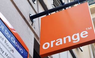 Une enseigne Orange (image d'illustration).