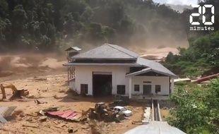 Les images impressionnantes des inondations au Laos - Le Rewind