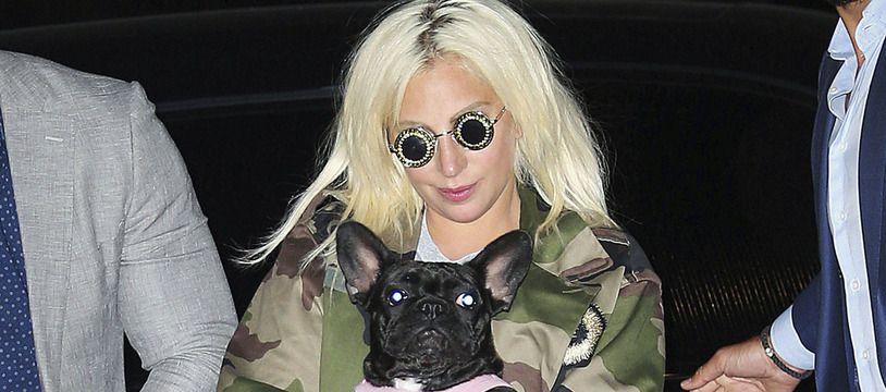 Lady Gaga après avoir retrouvé ses chiens sains et saufs le 25 février 2021