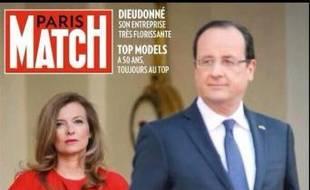 La une de Paris Match en vente le 15 janvier