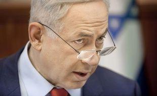 Le Premier ministre israélien Benjamin Netanyahou à Jérusalem, le 29 novembre 2015.