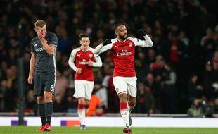 Alexandre Lacazette avec Arsenal