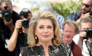 L'actrice française Catherine Deneuve le 21 mai 2014 à la 67e édition du Festival de Cannes