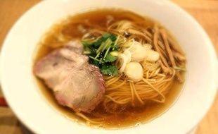 Les ramen de Tsuta, restaurant étoilé au Guide Michelin Tokyo.