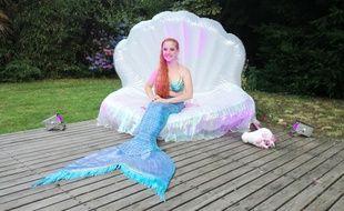 Lexie, la sirène de Tourcoing.