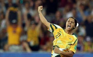 Sam Kerr, l'une des stars de la dernière Coupe du monde, et ses coéquipières font un grand pas dans l'égalité des sexes.