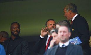Patrice Evra était aux anges lors de PSG-Manchester.