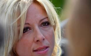 Florence Portelli, maire  LR de Taverny, conseillère régionale, candidate à la présidence de Les Républicains, le 2 septembre 2017 à