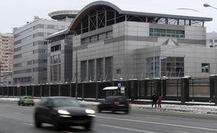 La siège du service de renseignement russe GRU à Moscou.