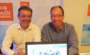 Lionel Martinez et Richard Girardot, les fondateurs de Swap and Study.