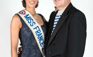 Iris Mittenaere et Jean-Paul Gaultier co-présideront l'élection de Miss France 2018.