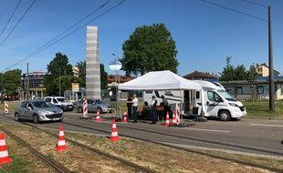 Pour ceux qui prennent la direction de Strasbourg, la police française aux frontières effectue aussi des contrôles. Une attestation de déplacement international est nécessaire.