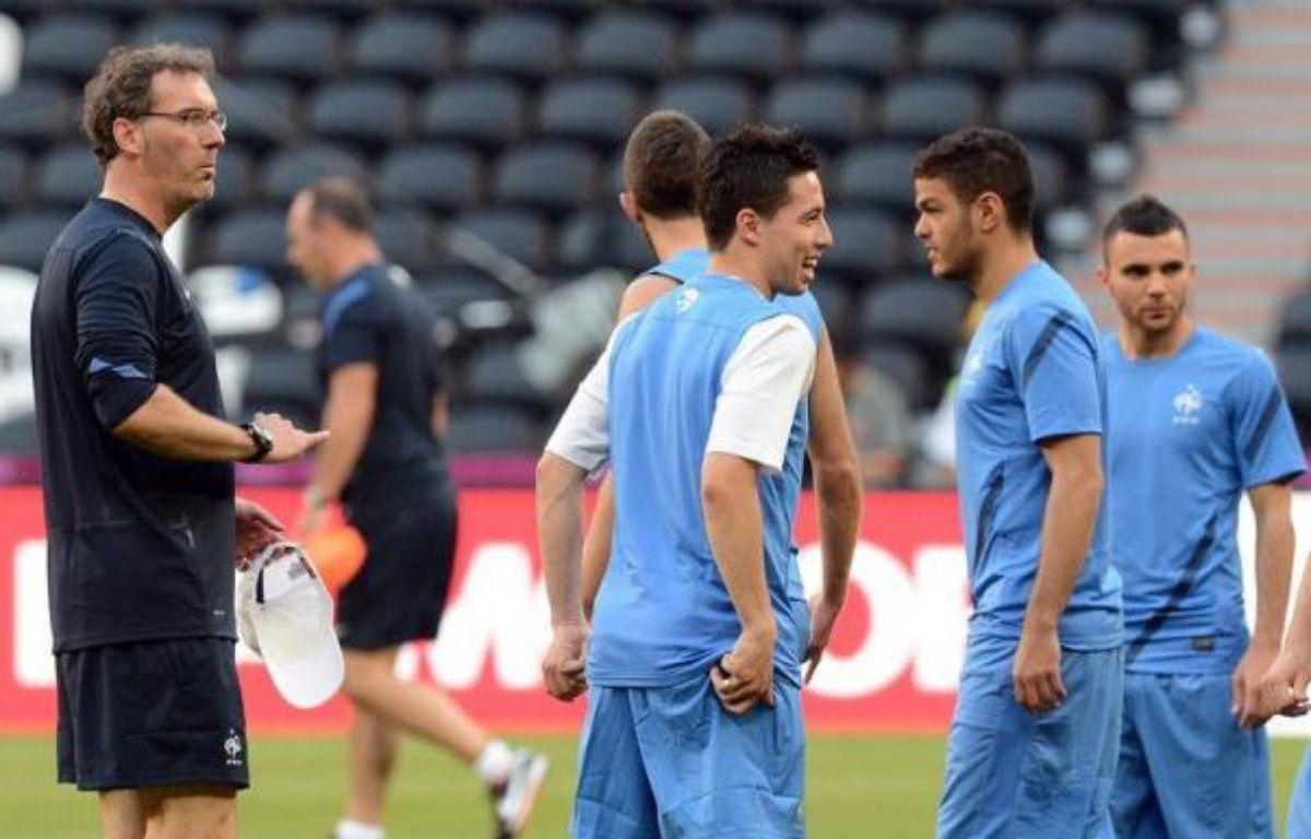 Sortie de l'Euro-2012 par l'Espagne, la France présente un bilan mitigé, quelques satisfactions individuelles ne masquant pas le désastre de la génération 87, celle d'un Benzema resté muet, alors que Blanc n'a que l'objectif fixé des quarts de finale à faire valoir. – Patrick Hertzog afp.com