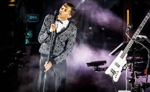 Stromae en concert à Las Vegas en avril 2015.