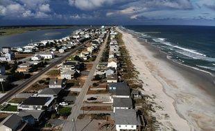 La plupart des habitants de Topsail Beach, en Caroline du Nord, ont été évacués à l'approche de l'ouragan Florence.