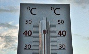 Illustration thermomètre.
