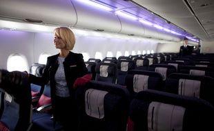 Une hôtesse d'Air France (illustration).