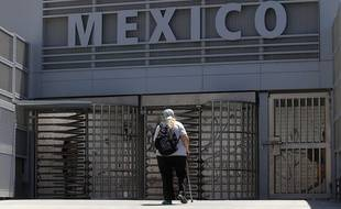 La frontière entre les Etats-Unis et le Mexique, près de Tijuana.