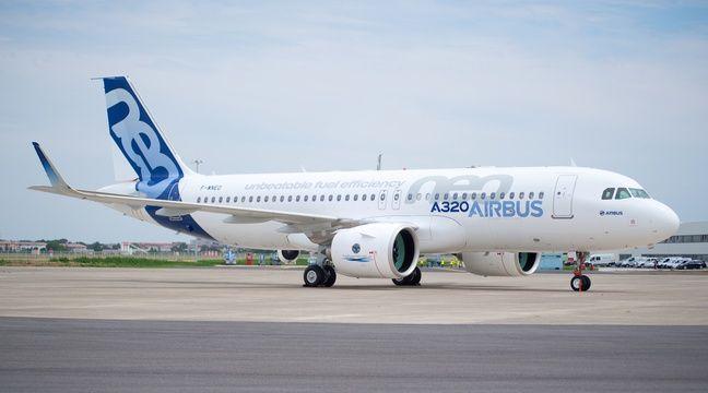 Un Airbus A320neo sur le tarmac de l'aéroport de Blagnac, près de Toulouse. – F. Lancelot / Airbus S.A.S