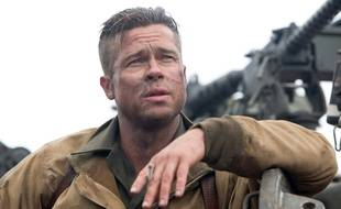 Brad Pitt dans le film «Fury».