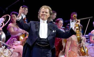 André Rieu lors d'un concert le 11 mars 2017 à Cologne.