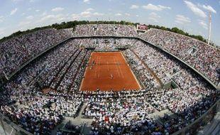 Le stade Roland Garros le 8 juin 2014