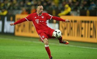 Franck Ribéry lors du match entre le Bayern Munich et le Borussia Dortmund le 19 novembre 2016.