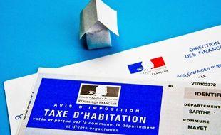 Avis d'imposition sur la taxe d'habitation.