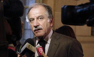 Noël Mamère, le 24 novembre 2010, à l'Assemblée nationale.