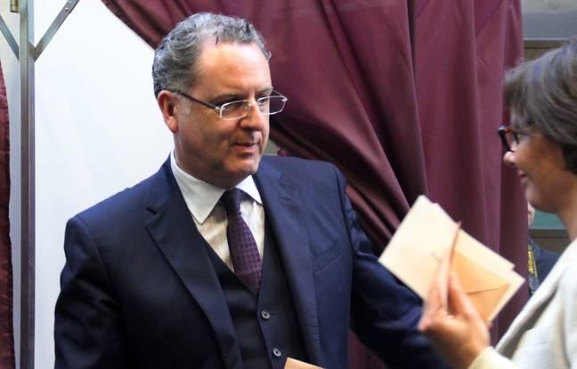 Le conseiller régional Richard Ferrand, ici au conseil régional de Bretagne le 18 décembre 2015.