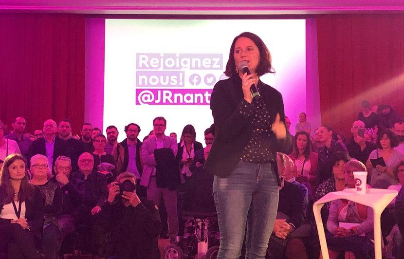 Municipales 2020 à Nantes : Les annonces « vertes » du premier meeting de Johanna Rolland