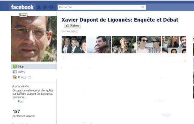 Capture d'écran de la page Facebook dédiée à l'enquête sur la tuerie de Nantes.