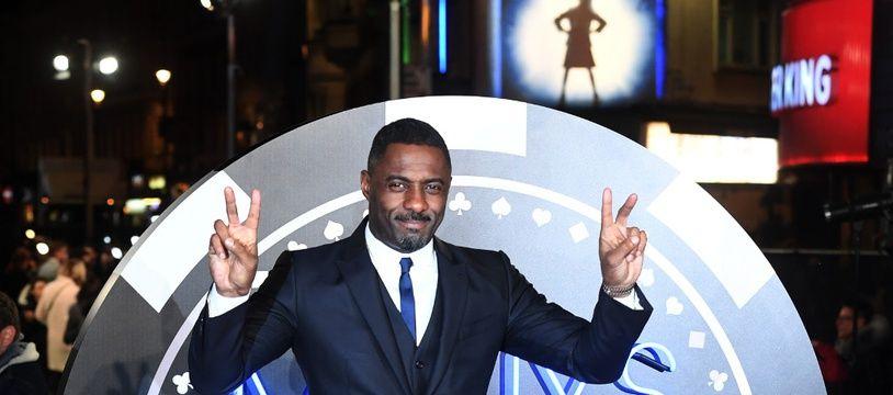 L'acteur Idris Elba à la première de Molly's Game à Londres